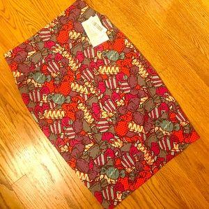 NWT Small Lularoe Cassie Skirt